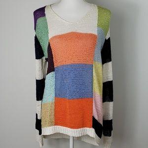 🎃 Mark Alan : Vintage Colorblock Sweater